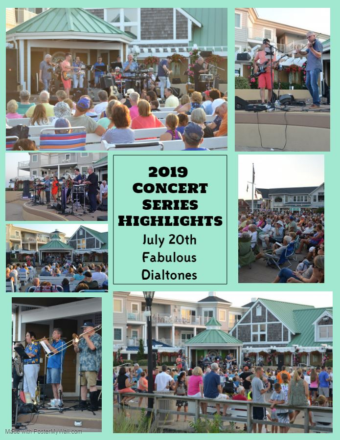 2019 Concert Series Highlights Fabulous Dialtones