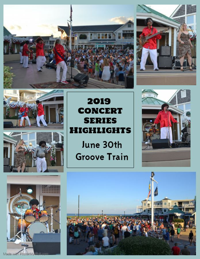 2019 Concert Series Highlights Groove Train