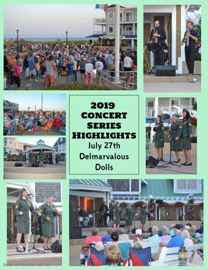 2019 Concert Series Highlights Delmarvalous Dolls