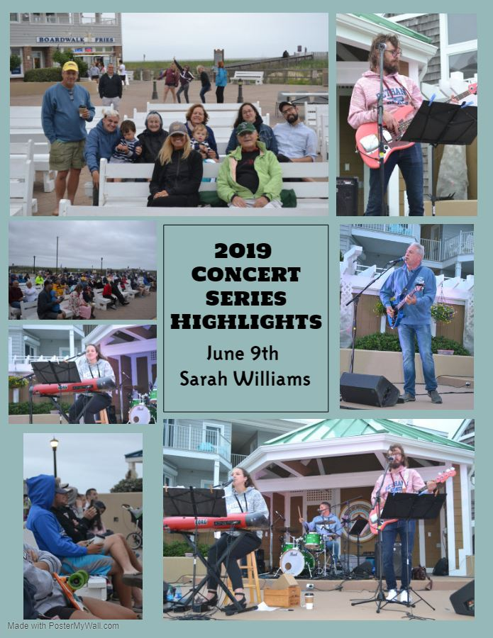 2019 Concert Series Highlights Sarah Williams