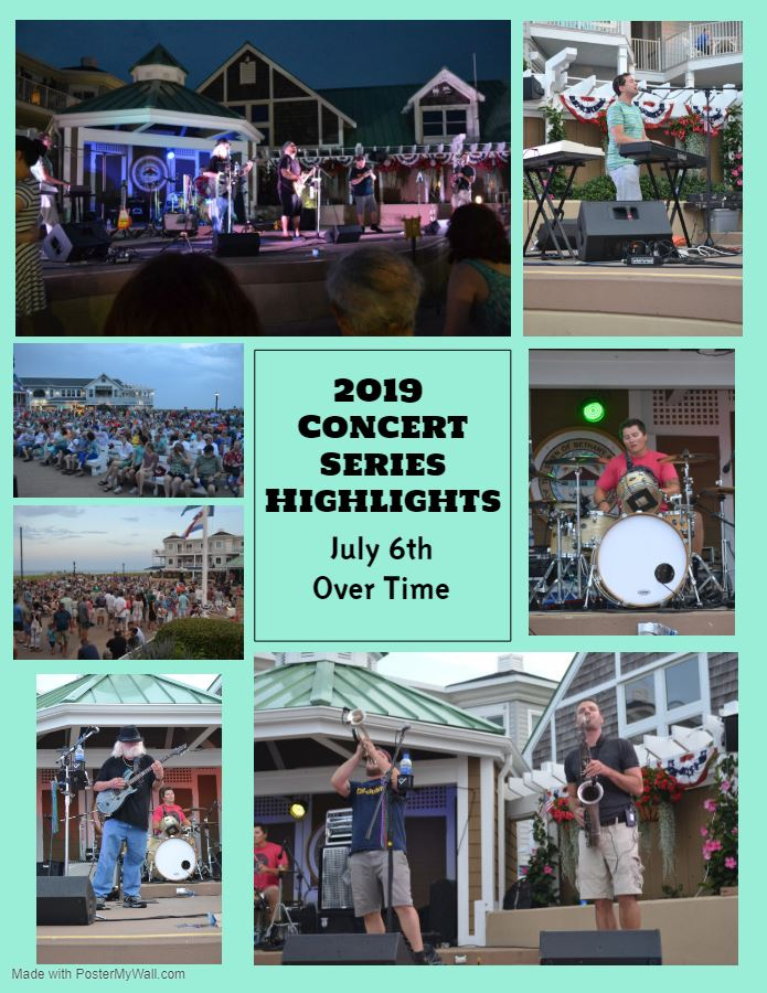 2019 Concert Series Highlights Overtime