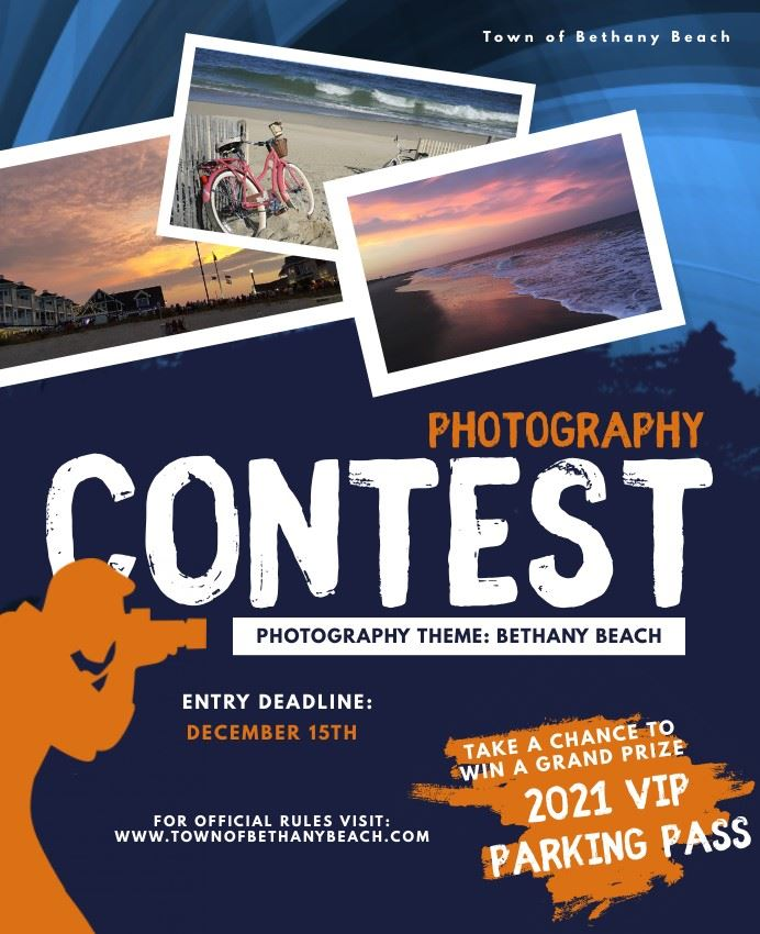 2021 Photography Contest Flyer